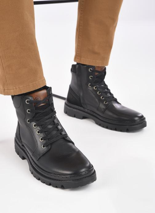 Bottines et boots Mr SARENZA Wynwood Noir vue bas / vue portée sac