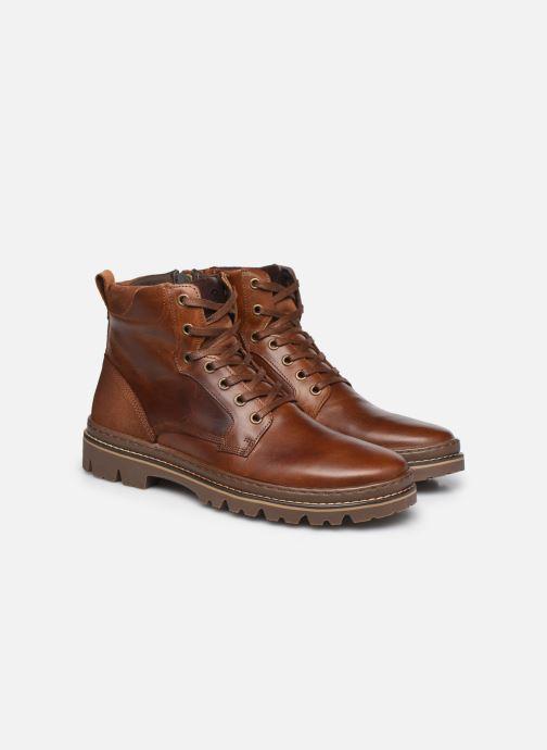 Boots en enkellaarsjes Mr SARENZA Wynwood Bruin achterkant