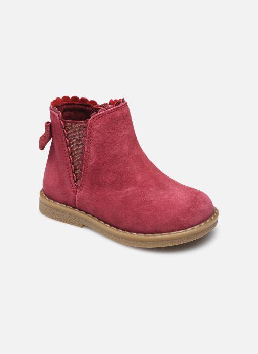 Stiefeletten & Boots Vertbaudet MF - Boots chelsea fantaisie rot detaillierte ansicht/modell