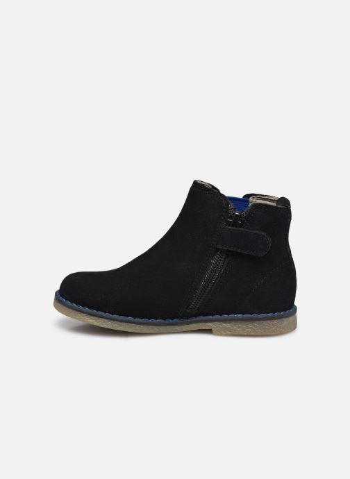 Stiefeletten & Boots Vertbaudet BG - Boots cuir schwarz ansicht von vorne