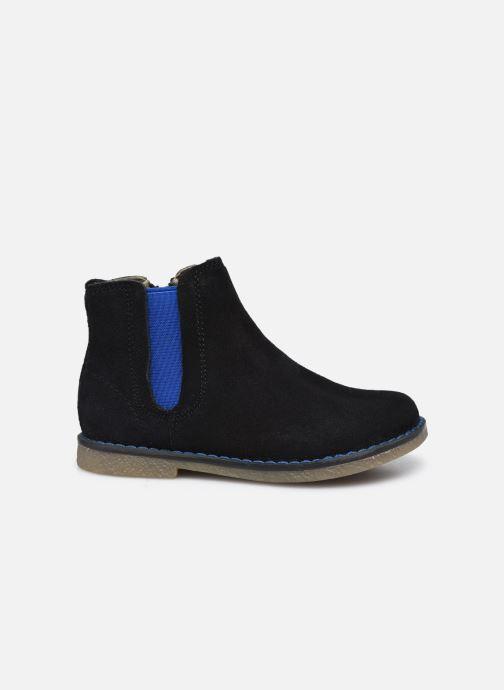 Stiefeletten & Boots Vertbaudet BG - Boots cuir schwarz ansicht von hinten