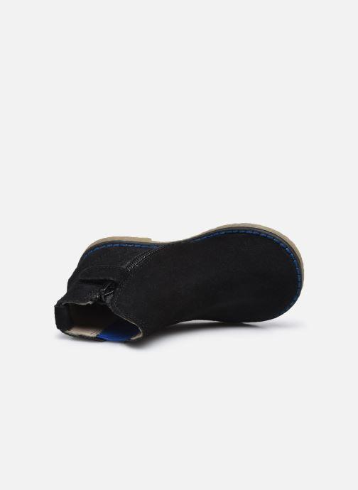 Stiefeletten & Boots Vertbaudet BG - Boots cuir schwarz ansicht von links