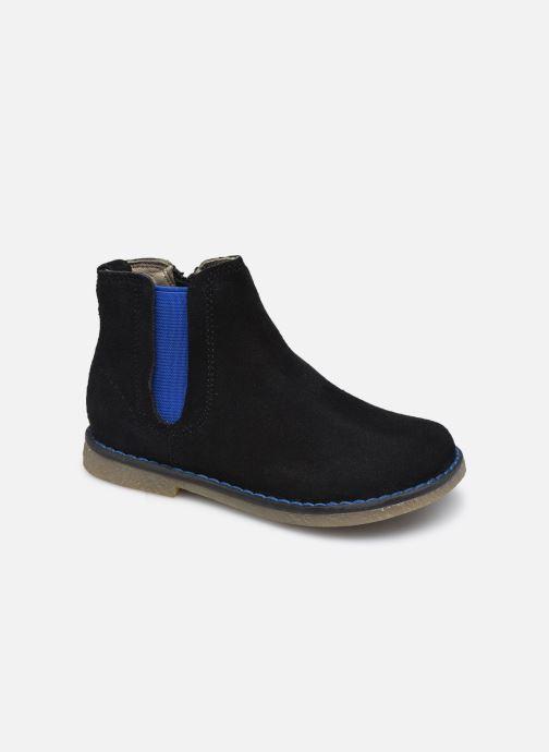 Stiefeletten & Boots Vertbaudet BG - Boots cuir schwarz detaillierte ansicht/modell