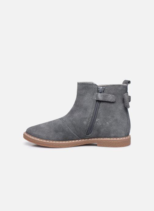 Stiefeletten & Boots Vertbaudet KF- Boots noeud coté grau ansicht von vorne