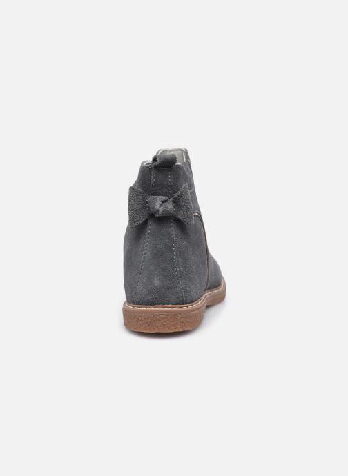 Stiefeletten & Boots Vertbaudet KF- Boots noeud coté grau ansicht von rechts