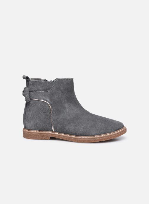 Stiefeletten & Boots Vertbaudet KF- Boots noeud coté grau ansicht von hinten