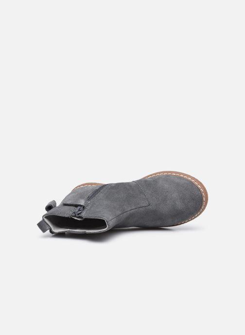 Stiefeletten & Boots Vertbaudet KF- Boots noeud coté grau ansicht von links