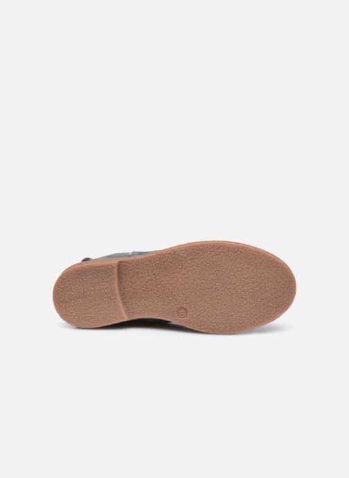 Stiefeletten & Boots Vertbaudet KF- Boots noeud coté grau ansicht von oben