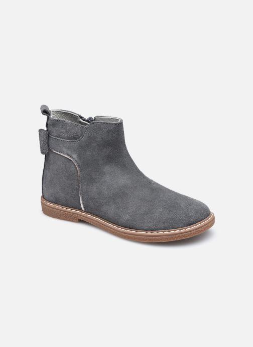 Stiefeletten & Boots Vertbaudet KF- Boots noeud coté grau detaillierte ansicht/modell