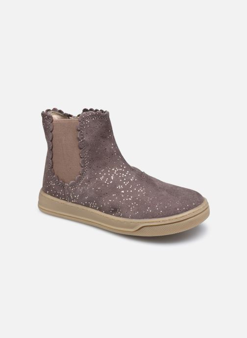 Stiefeletten & Boots Vertbaudet KF- Boots cupsole beige detaillierte ansicht/modell
