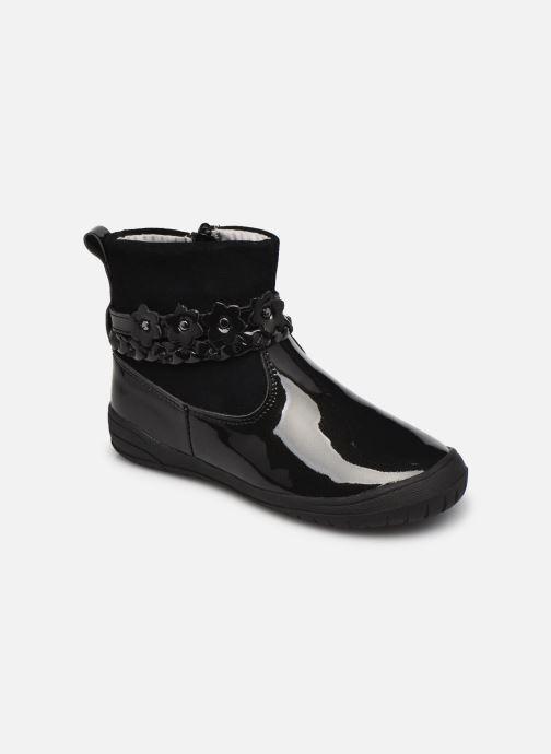 Bottines et boots Vertbaudet JM- Boots cuir Noir vue détail/paire