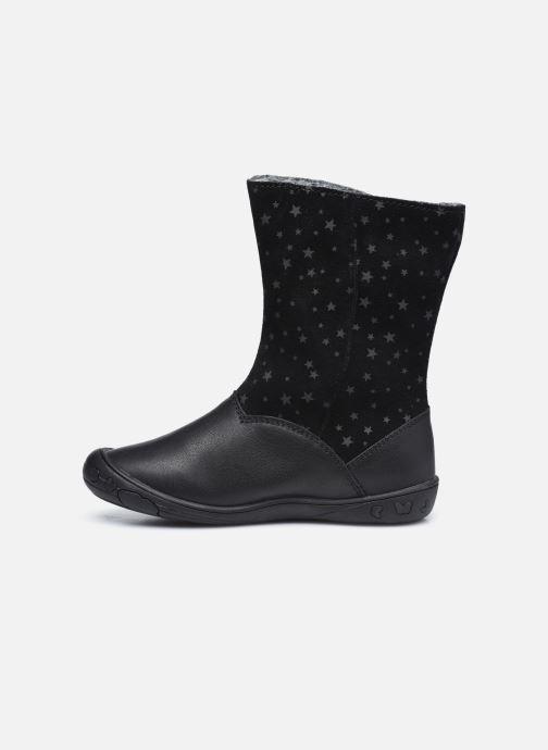 Stiefel Vertbaudet KF- Bottes transformable fourrées schwarz ansicht von vorne