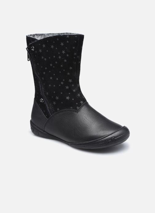 Stiefel Vertbaudet KF- Bottes transformable fourrées schwarz detaillierte ansicht/modell