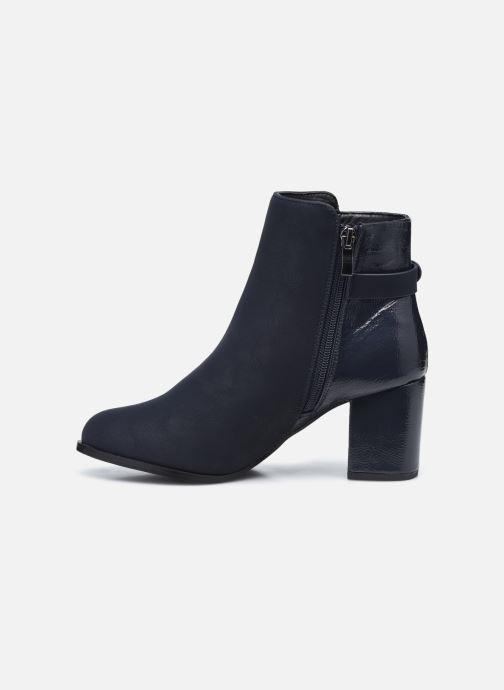 Botines  I Love Shoes CAMOMY Azul vista de frente