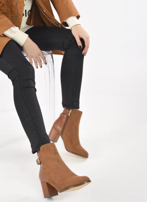 Stiefeletten & Boots I Love Shoes CAMOMY braun ansicht von unten / tasche getragen