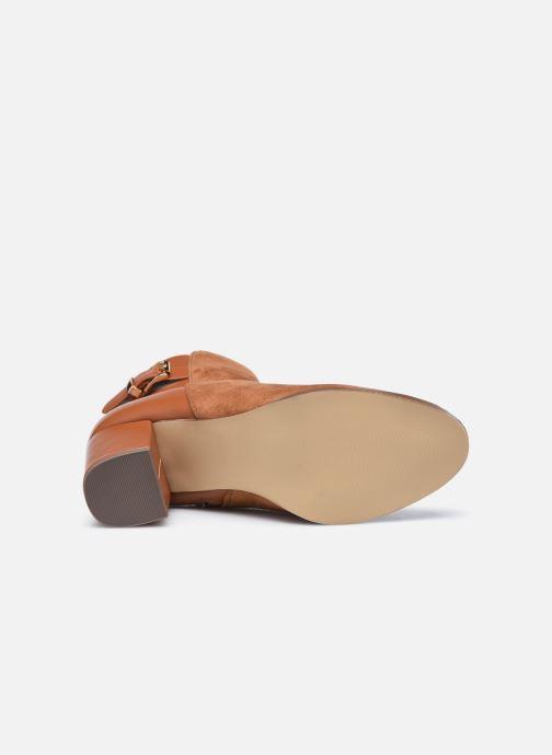 Stiefeletten & Boots I Love Shoes CAMOMY braun ansicht von oben