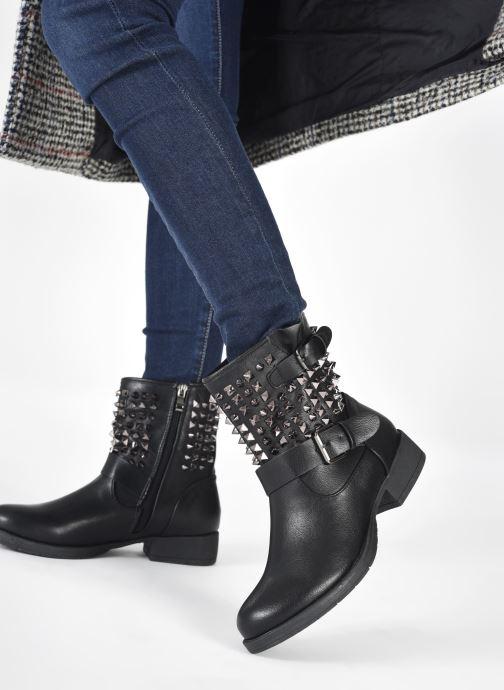 Stiefeletten & Boots I Love Shoes CAROCK schwarz ansicht von unten / tasche getragen