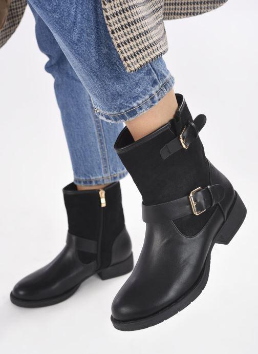 Bottines et boots I Love Shoes CAROCK Noir vue bas / vue portée sac