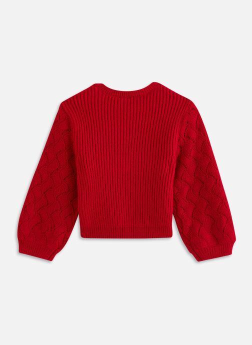 Vêtements 3 Pommes Pull 3R18044 Rouge vue bas / vue portée sac