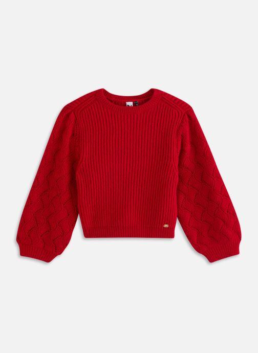 Vêtements 3 Pommes Pull 3R18044 Rouge vue détail/paire