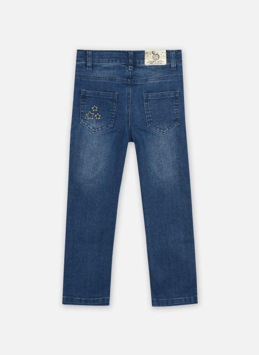 Vêtements 3 Pommes Jean 3R22604 Bleu vue portées chaussures