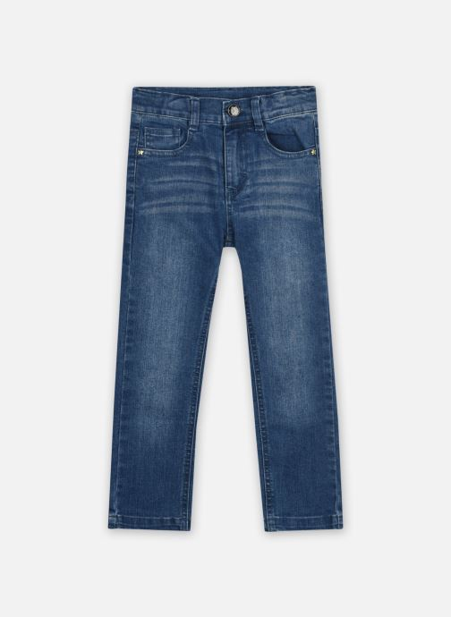 Vêtements 3 Pommes Jean 3R22604 Bleu vue détail/paire