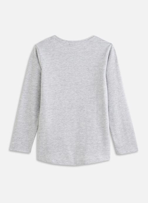 Vêtements 3 Pommes Tee shirt 3R10904 Gris vue bas / vue portée sac