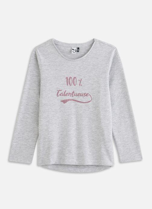 Vêtements 3 Pommes Tee shirt 3R10904 Gris vue détail/paire