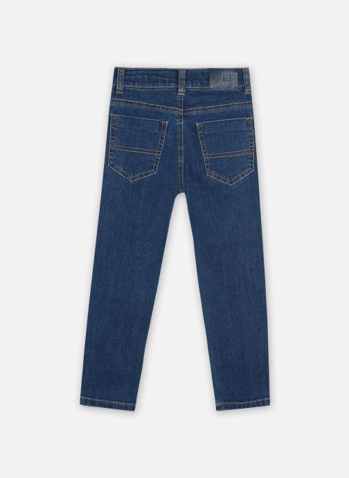 Vêtements 3 Pommes Pantalon 3R22605 Bleu vue portées chaussures