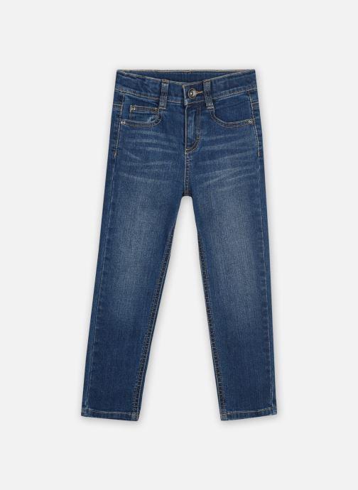Vêtements 3 Pommes Pantalon 3R22605 Bleu vue détail/paire