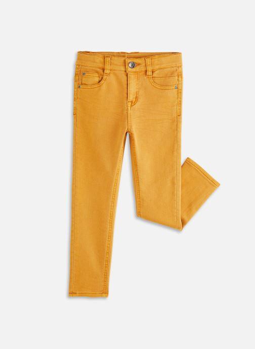 Vêtements 3 Pommes Pantalon 3R22615 Jaune vue détail/paire
