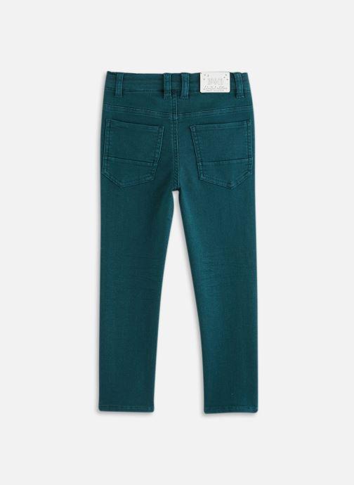 Vêtements 3 Pommes Pantalon 3R22615 Bleu vue bas / vue portée sac