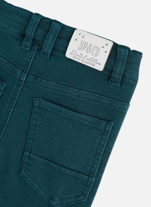 Vêtements 3 Pommes Pantalon 3R22615 Bleu vue portées chaussures