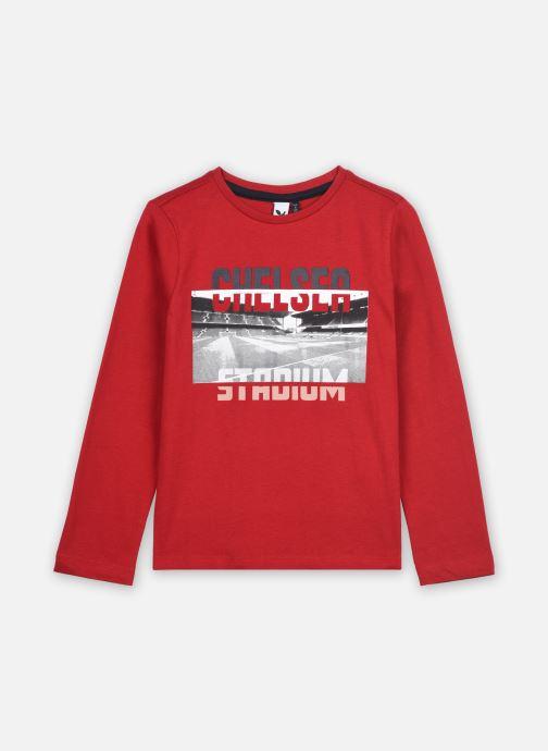 Vêtements 3 Pommes Tee shirt 3R10015 Rouge vue détail/paire