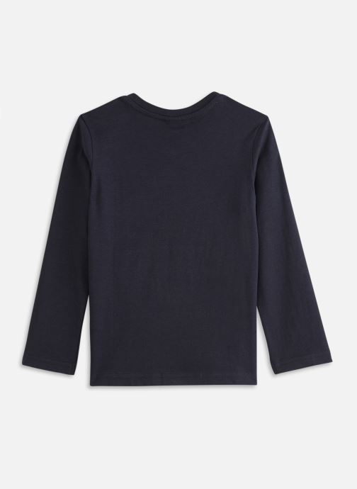 Vêtements 3 Pommes Tee shirt 3R10905 Bleu vue bas / vue portée sac