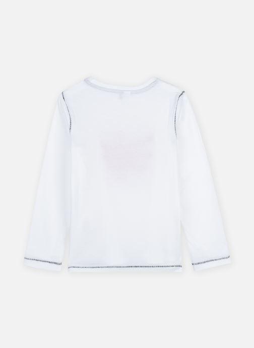 Kleding 3 Pommes Tee shirt 3R10085 Wit model