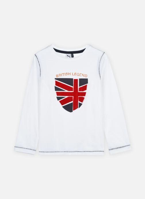 Kleding 3 Pommes Tee shirt 3R10085 Wit detail