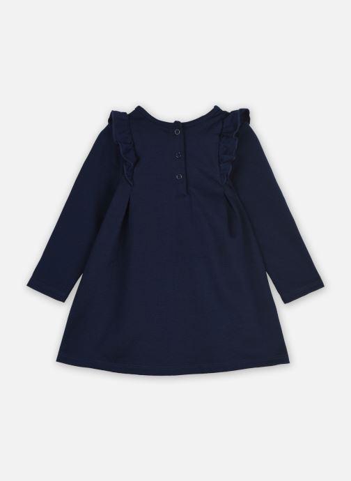 Vêtements 3 Pommes Robe 3R30762 Bleu vue portées chaussures