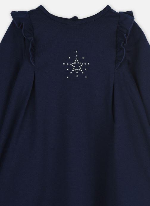 Vêtements 3 Pommes Robe 3R30762 Bleu vue face