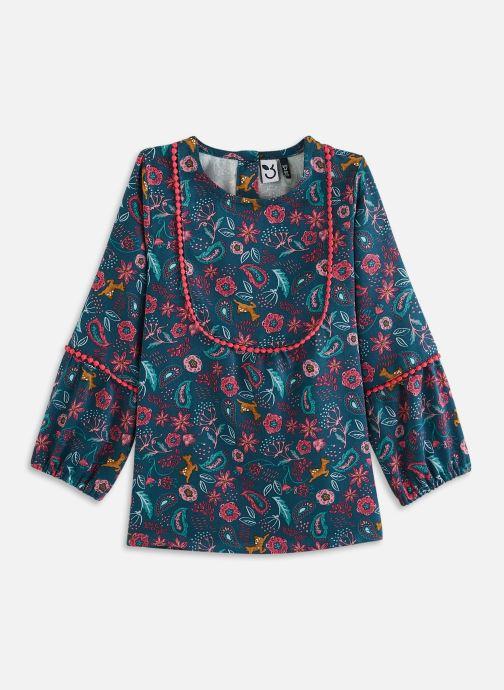 Vêtements 3 Pommes Tunique 3R19012 Bleu vue détail/paire
