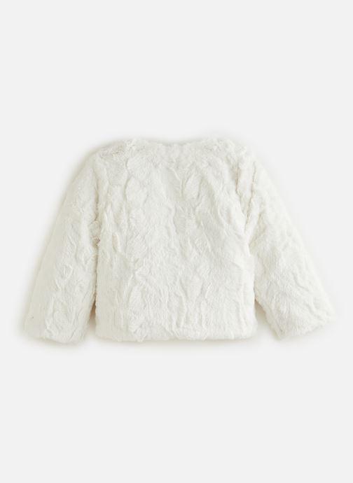 Vêtements 3 Pommes Veste 3R40002 Blanc vue bas / vue portée sac