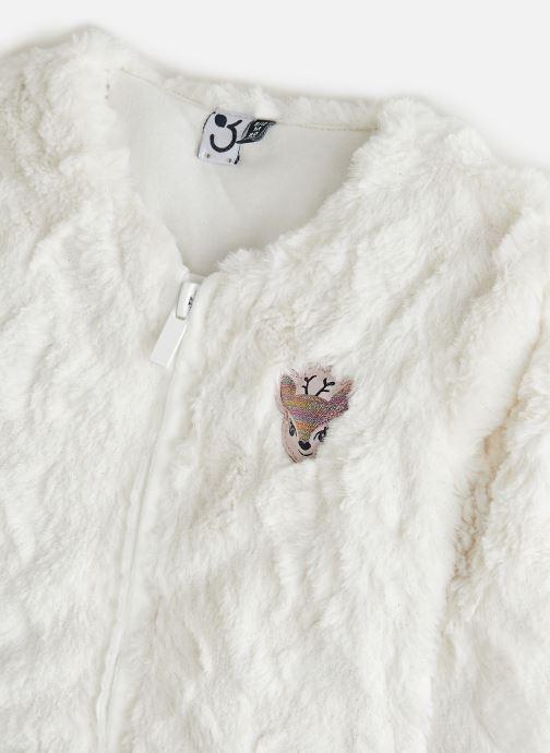 Vêtements 3 Pommes Veste 3R40002 Blanc vue portées chaussures