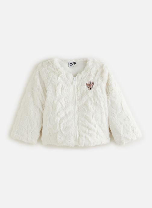 Vêtements 3 Pommes Veste 3R40002 Blanc vue détail/paire