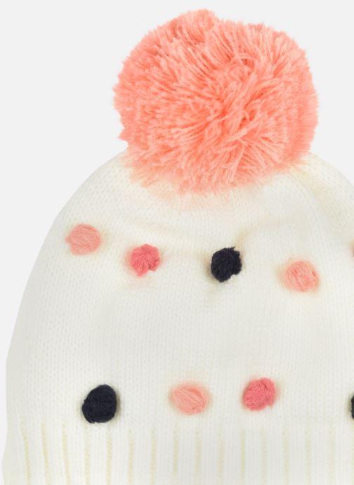 Mütze 3 Pommes Bonnet+snood 3R90012 weiß schuhe getragen