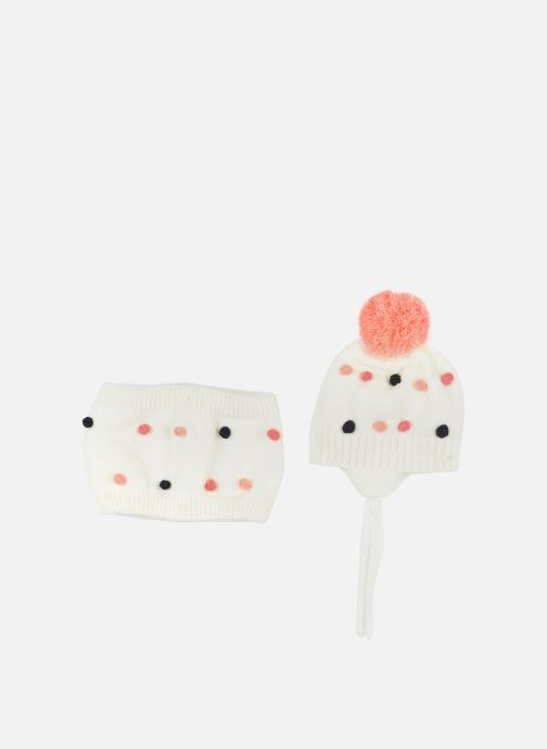 Mütze 3 Pommes Bonnet+snood 3R90012 weiß detaillierte ansicht/modell