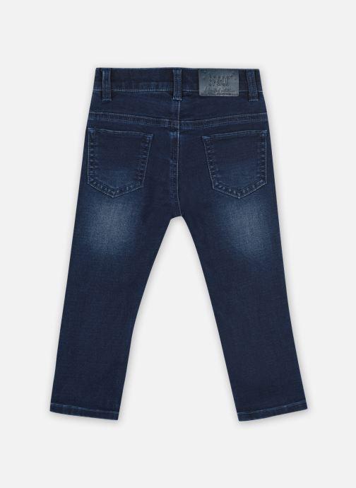 Vêtements 3 Pommes Jean 3R22603 Bleu vue portées chaussures