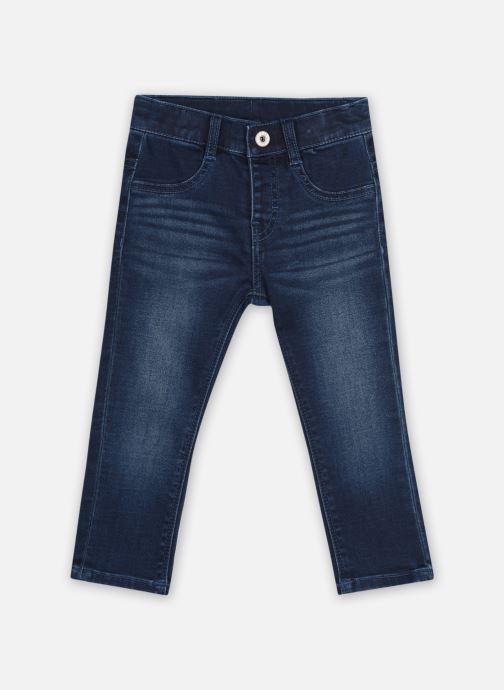 Vêtements 3 Pommes Jean 3R22603 Bleu vue détail/paire
