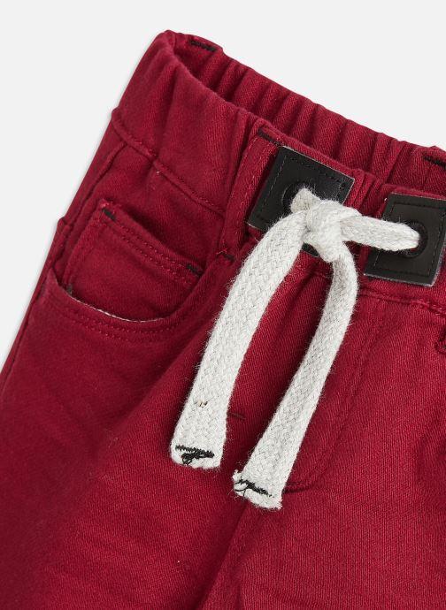 Vêtements 3 Pommes Jean 3R22613 Bordeaux vue portées chaussures
