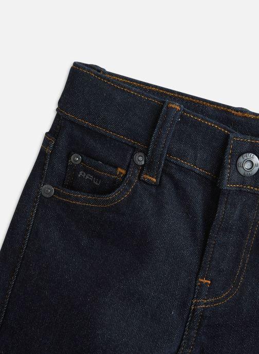 Vêtements G-Star Pant 3301 Bleu vue portées chaussures