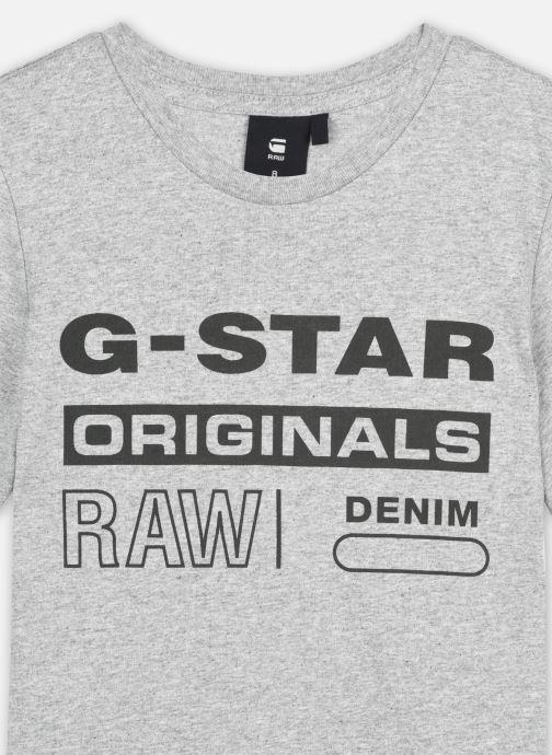 Tøj G-Star Tee-shirt SS SR10036 Grå se forfra